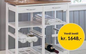 Få Kjøkkentralle Arboga + 1 bok GRATIS som velkomstgave fra Bokklubben Nye Bøker